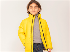 Ver de Terre rubber winter jacket anniversary yellow